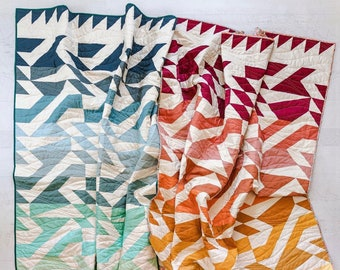 Quilt Kit: VOYAGE Quilt by Suzy Quilts