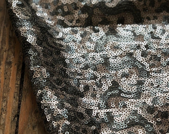 Silver Holiday Sequin
