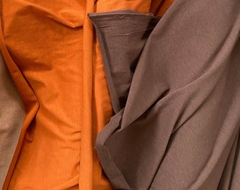 Bamboo + Organic Cotton Spandex Jersey in Toffee by Pickering