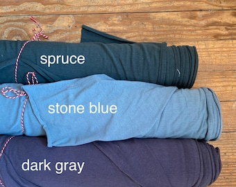 Soy/Organic Cotton/Spandex Jersey in Spruce