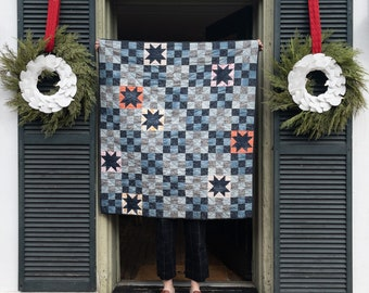 Quilt Kit: Campfire Glow Quilt by Then Came June