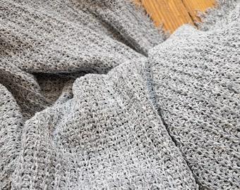 Light Sweater Knit in Blue Gray
