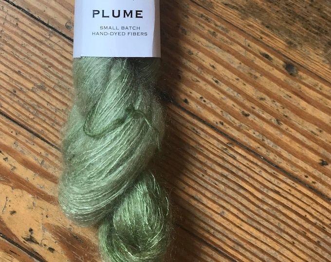 Plume in Sage by Valhalla Farm Fiber