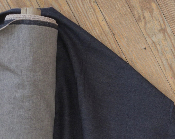 Repreve Denim in Black Coffee (recycled poly and organic cotton) - 6.6 oz. - 2% Lycra