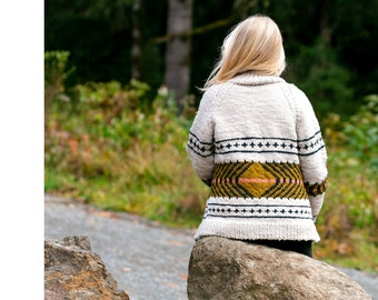 Knit Kit: Watkins Sweater by Whitney Hayward in Puffin Yarn by Quince and Co.