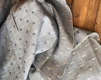 Boro Woven in Indigo by Moda Fabrics