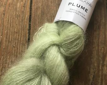 Plume in Mint by Valhalla Farm Fiber