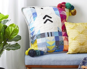 Nesting Spot Pillow Kit - As Seen In Quilt Sampler Magazine