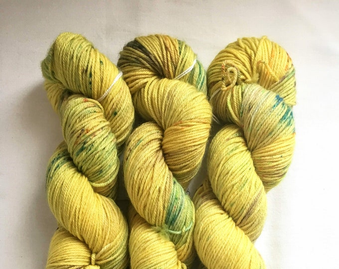 Farmhouse DK in Yellow Brick Road by Valhalla Farm Fiber
