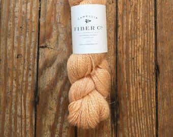Camellia Fiber Company Flax DK in Clementine