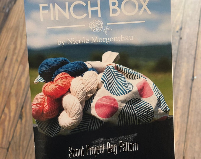 Scout Project Bag by The Finch Box