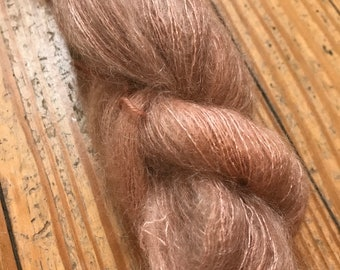 Plume in Strawflower by Valhalla Farm Fiber