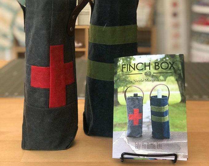 Tally Ho Bottle Tote KIT by the Finch Box
