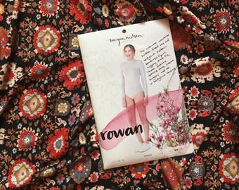 Garment Sewing KIT: The Rowan Jumpsuit by Megan Nielsen in Liberty London