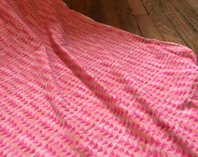 Flying Ribbon in Rose KNIT for the Once Upon a Time Collection for Cotton + Steel
