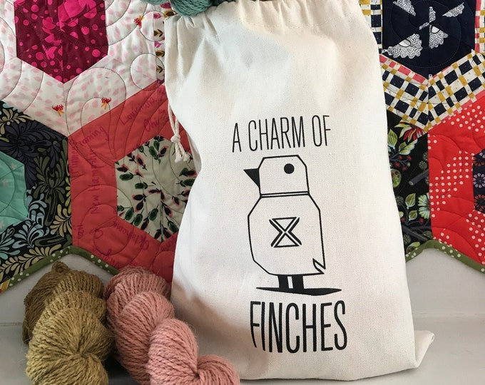 Finchiversary CHARM of FINCHES Project Bag