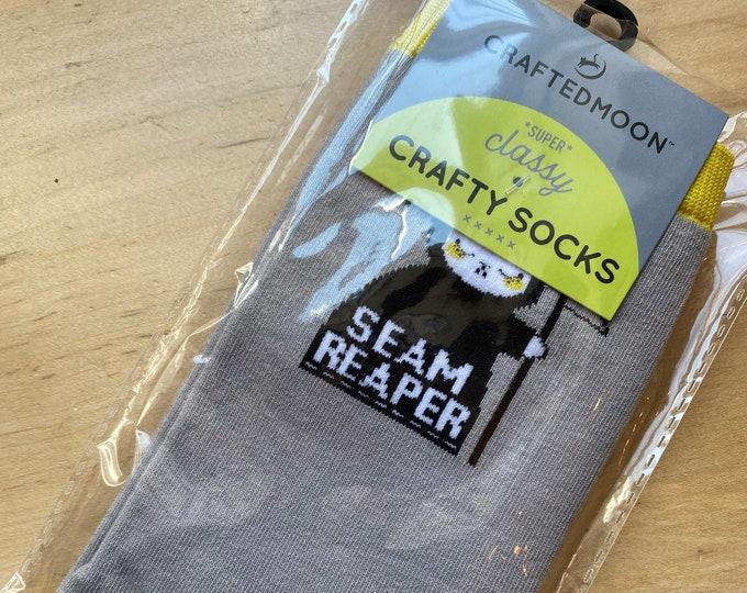 Super Classy Crafty Socks - SEAM REAPER