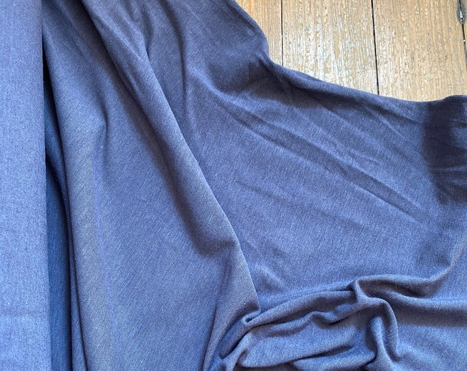 Soy/Organic Cotton/Spandex Jersey in Dark Gray