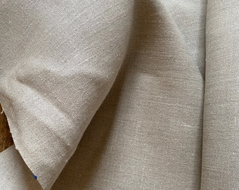 "100% Hemp Canvas Mock ""Linen"" in Greige"