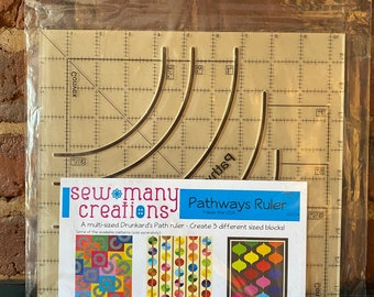 Sew Many Creations Pathways Ruler Designed by Jessica VanDenburgh