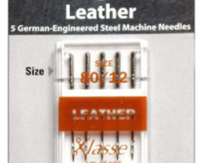 Klasse - Leather 80/12 - Machine Needle