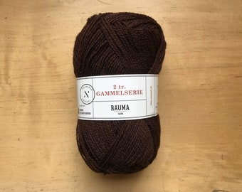 2 Ply Gammelserie in Brown by Rauma