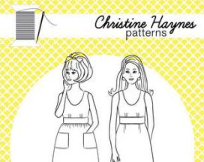 Sylvie Dress Paper Pattern by Christine Haynes