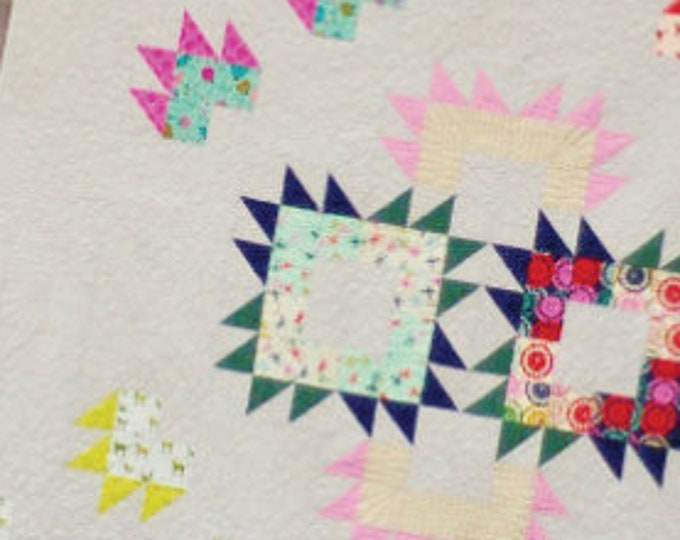 Flying Colors Quilt Paper Pattern by Jennifer McClanahan
