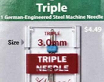 Klasse - Triple Needle - 3.0mm Machine Needle