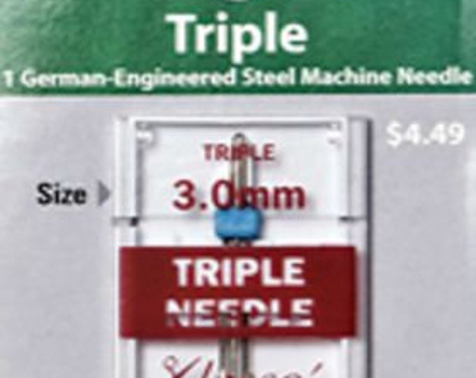 Klasse - Triple Needle - 3.0mm Machine Needle