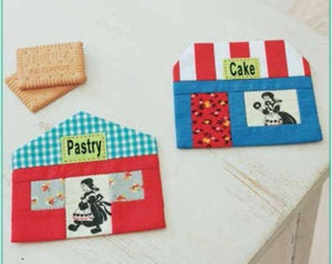 House Coasters from Zakka Workshop Patterns ENGLISH EDITION - Paper Pattern