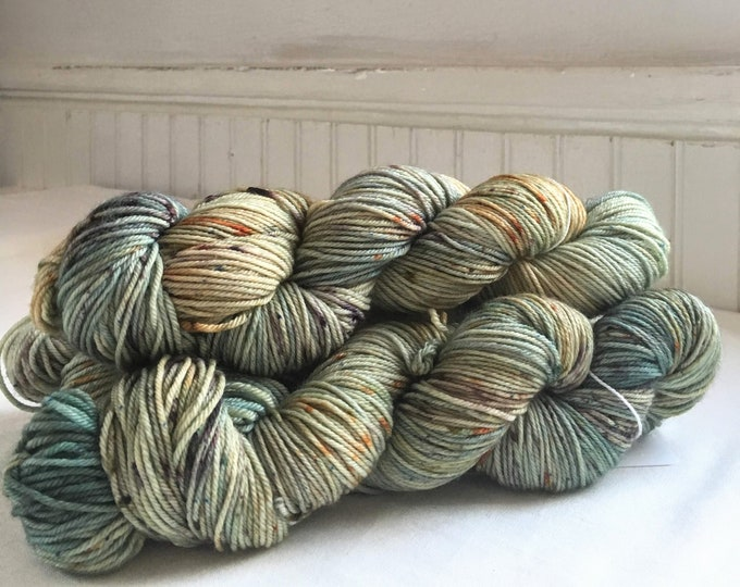 Farmhouse DK in Autumn Skies by Valhalla Farm Fiber