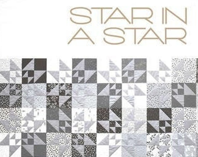 Star in a Star Quilt by Zen Chic - Paper Pattern
