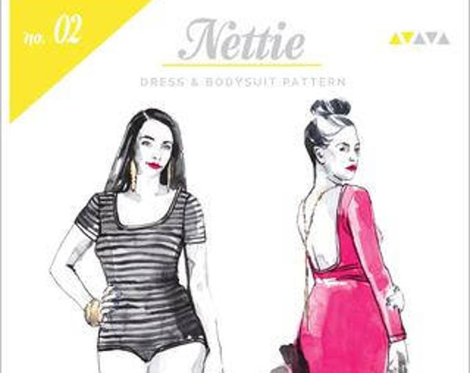 Nettie Bodysuit Paper Pattern- Closet Case Patterns