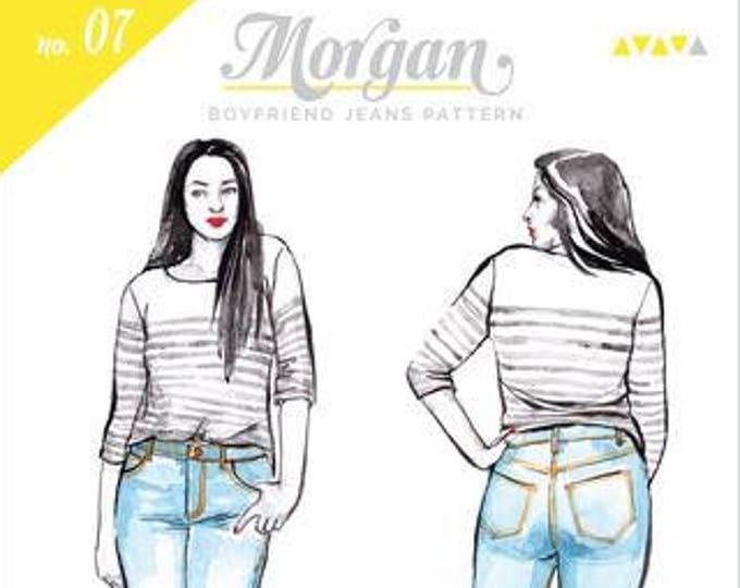 Morgen Jeans Paper Pattern- Closet Case Patterns