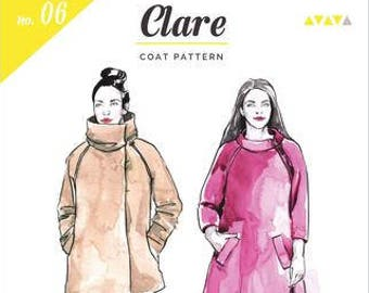 Clare Coat Paper Pattern- Closet Case Patterns