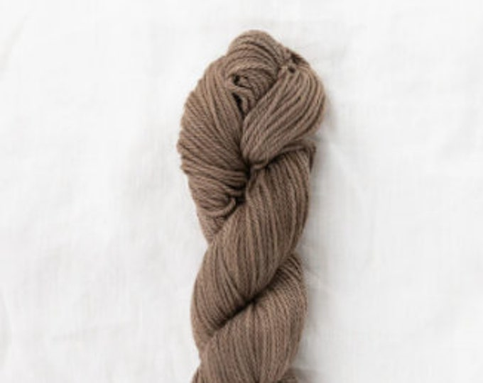 Willet Naturally Dyed in Cutch + Iron by Quince & Co