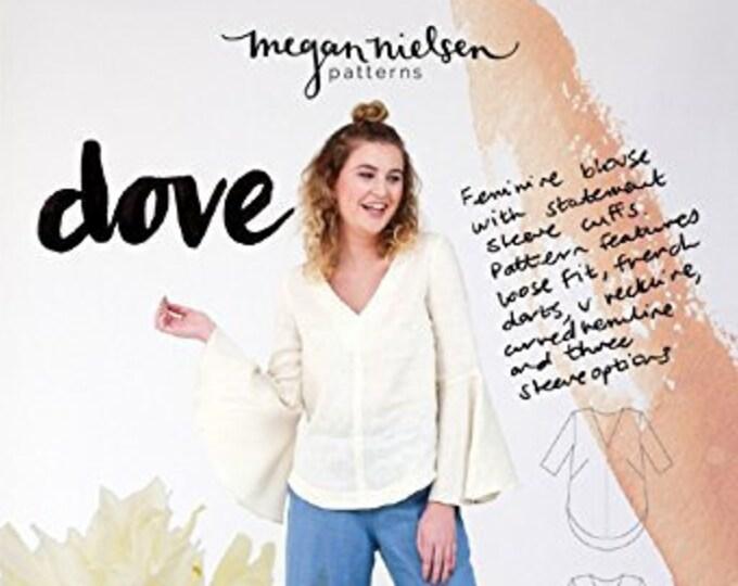 Dove Blouse Paper Pattern- Megan Nielsen Patterns