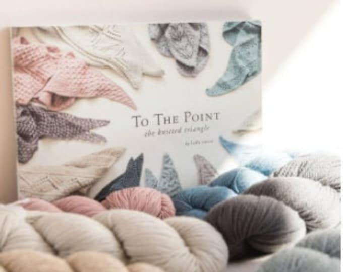 To the Point: The Knitted Triangle from Quince & Co.