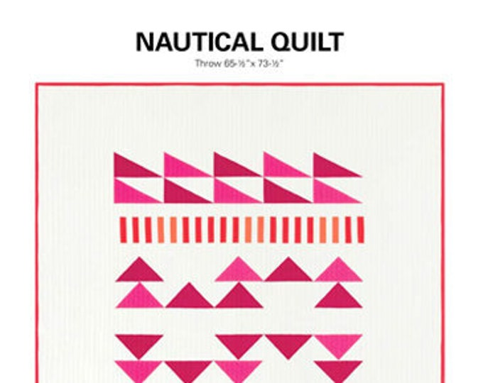 Nautical Quit Pattern by Initial K Studio - Paper Pattern