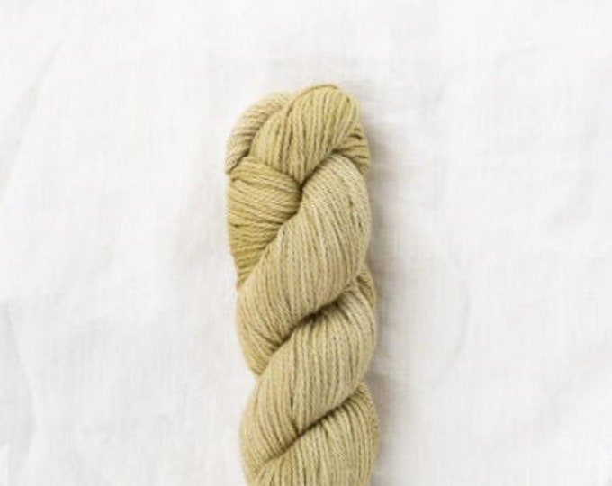 Willet Naturally Dyed in Buckhron Dark by Quince & Co