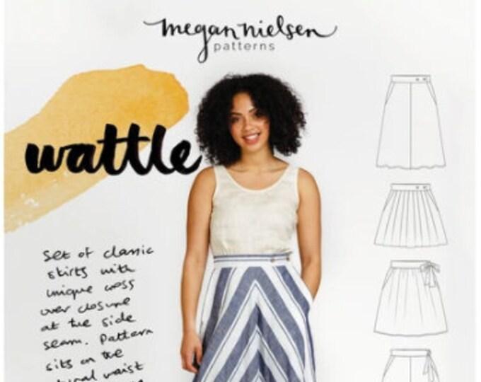 Wattle Skirt Paper Pattern- Megan Nielsen Patterns