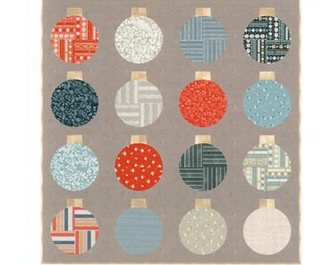 Retro Ornaments Quilt Pattern by Lo and Behold