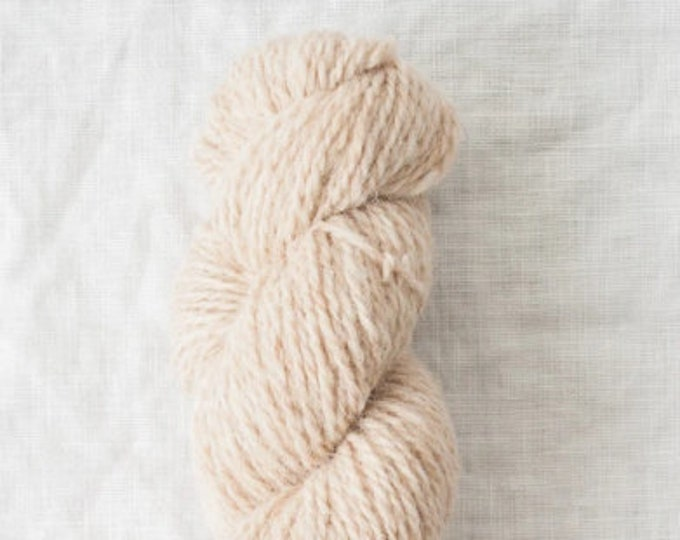 Owl in Tyto (undyed) by Quince & Co