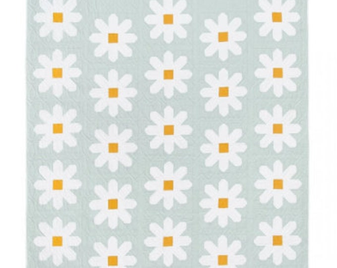 Fresh as a Daisy Quilt Paper Pattern by Pen + Paper Patterns