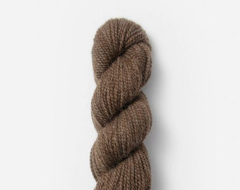 Baby Alpaca Sport Weight in Natural Streaky Brown 506 by Blue Sky