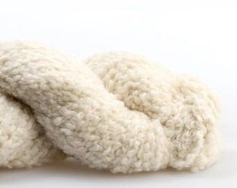 Flette Bulky - FB00 Natural by Woolfolk