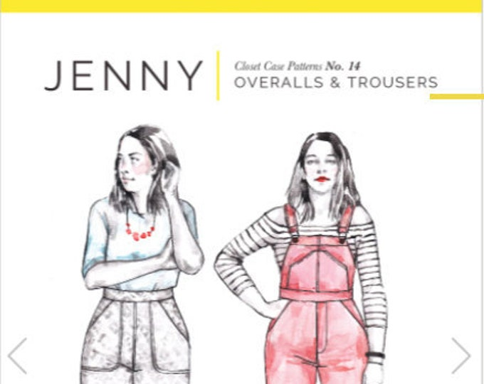 Jenny Overalls and Trousers Pattern - Closet Core Patterns