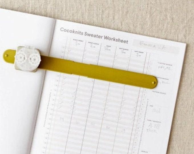 CocoKnits Sweater Worksheet Journal by Julie Weisenberger