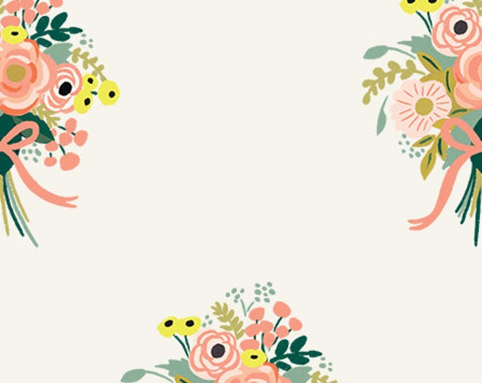 PRESALE: Bouquets  (cream fabric) from English Garden by Rifle Paper Co.